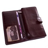 Мужской кожаный кошелек DESISAN - Фото 5