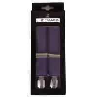 Подтяжки мужские фиолетовые - Фото 1