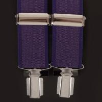 Подтяжки мужские фиолетовые
