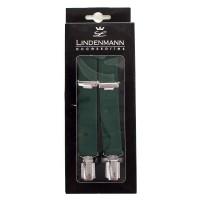 Мужские зеленые подтяжки LINDENMANN - Фото 1