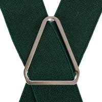 Мужские зеленые подтяжки LINDENMANN