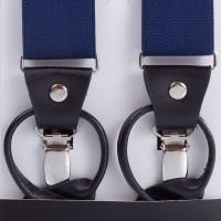 Подтяжки синие мужские LINDENMANN - Фото 2