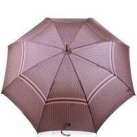 Зонт-трость мужской полуавтомат с большим куполом ZEST - Фото 2