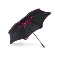 Ветрозащитный зонт-трость мужской механический с большим куполом BLUNT - Фото 4