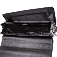 """Мужская кожаная сумка-почтальонка с отделением для ноутбука 11,6-12"""" ROCKFELD - Фото 4"""