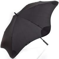 Черный зонт-трость механический BLUNT