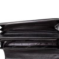 """Мужская кожаная сумка-почтальонка с отделением для ноутбука 11,6-12"""" ROCKFELD - Фото 6"""