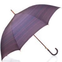 Зонт-трость мужской полуавтомат с большим куполом ZEST