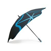 Оригинальный зонт-трость мужской механический с большим куполом BLUNT