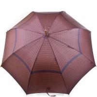 Зонт-трость мужской полуавтомат с большим куполом ZEST - Фото 3