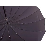 Зонт-трость мужской механический с большим куполом DOPPLER, коллекция BUGATTI - Фото 1