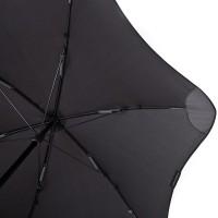 Черный зонт-трость механический BLUNT - Фото 9