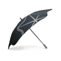 Противоштормовой зонт-трость мужской механический с большим куполом BLUNT