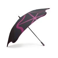 Ветрозащитный зонт-трость мужской механический с большим куполом BLUNT
