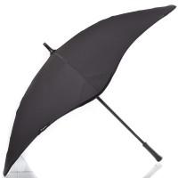Черный зонт-трость механический BLUNT - Фото 2
