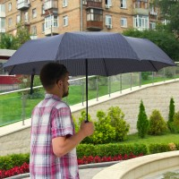 Зонт мужской автомат с большим куполом DOPPLER - Фото 1