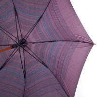 Зонт-трость мужской полуавтомат с большим куполом ZEST - Фото 5