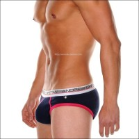 Andrew Christian slip basic blue/red