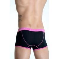 Calvin Klein boxer 365 black/ pink - Фото 2
