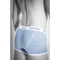 Calvin Klein boxer 365 grey/white - Фото 1