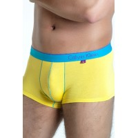 Calvin Klein boxer one yellow/blue