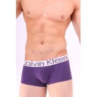 Calvin Klein boxer steel purple