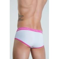 Calvin Klein slip 365 white/pink - Фото 2