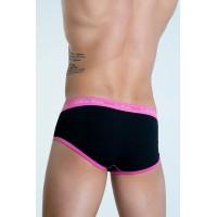 Calvin Klein slip 365 black/pink - Фото 2