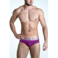 Calvin Klein slip steel purple
