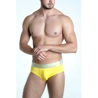 Calvin Klein slip steel yellow