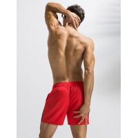 Мужские шорты длинные DEENYT красные - Фото 3