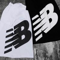 Мужская футболка New Balance черная - Фото 1