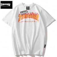 Thrasher футболка белая