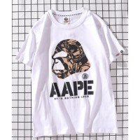 AAPE- Бейп  футболка мужская белая
