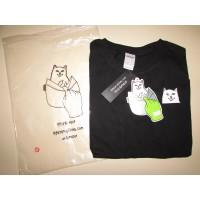 Ripndip кот с факом  футболка - Фото 1