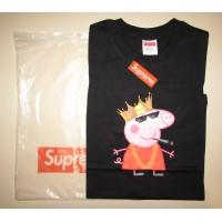 Прикольная футболка Supreme x Peppa - Фото 1