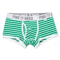 Pink Hero boxer strips green  - Фото 2
