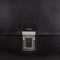 Кожаный мужской портфель MYKHAIL IKHTYAR - Фото 3