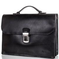 Кожаный мужской портфель MYKHAIL IKHTYAR