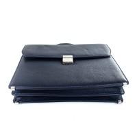 Кожаный мужской портфель KARLET - Фото 4