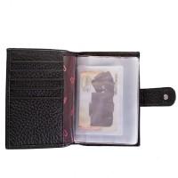 Мужской кожаный кошелек с органайзером для документов DESISAN - Фото 5