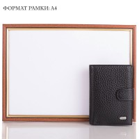 Мужской кожаный кошелек с органайзером для документов DESISAN - Фото 8