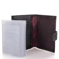 Мужской кожаный кошелек с органайзером для документов DESISAN - Фото 6