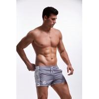 Плавательные короткие шорты Aqux gray - Фото 2