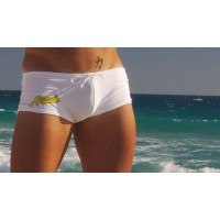 Плавки Aussiebum 16 white/yellow