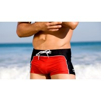 Плавки Aussiebum red/black