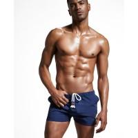 Синие шорты для пляжа Super Body  - Фото 3