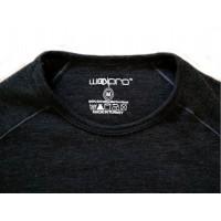 Термокофта Woolpro 001 black - Фото 1