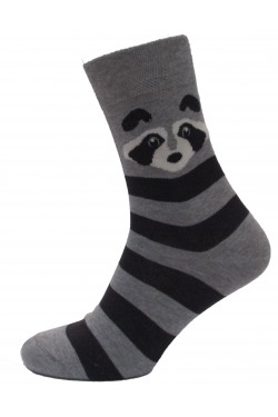 Мужские носки с рисунком Енот