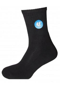 Хлопковые носки с махровым следом